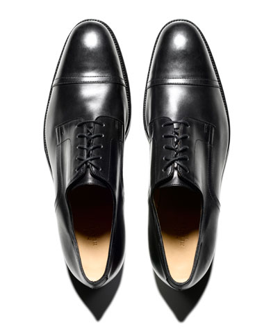 Bally Cap Toe Oxfords