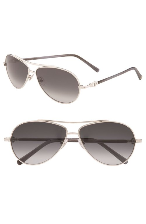 "David Yurman ""Buckle"" Sunglasses"