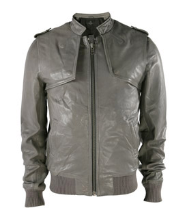 grey-leather-jacket