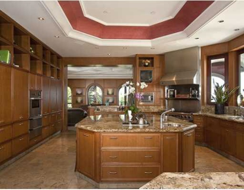 A kitchen this grand, deserves hiring a chef